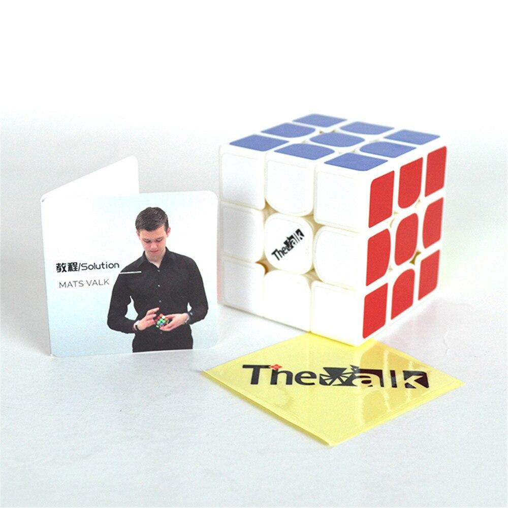 QiYi 3*3*3 Valk3 puissance M magnétique vitesse Puzzle Cube Valk 3 professionnel drôle jouets Cube jouet jouet éducatif pour enfants cadeau