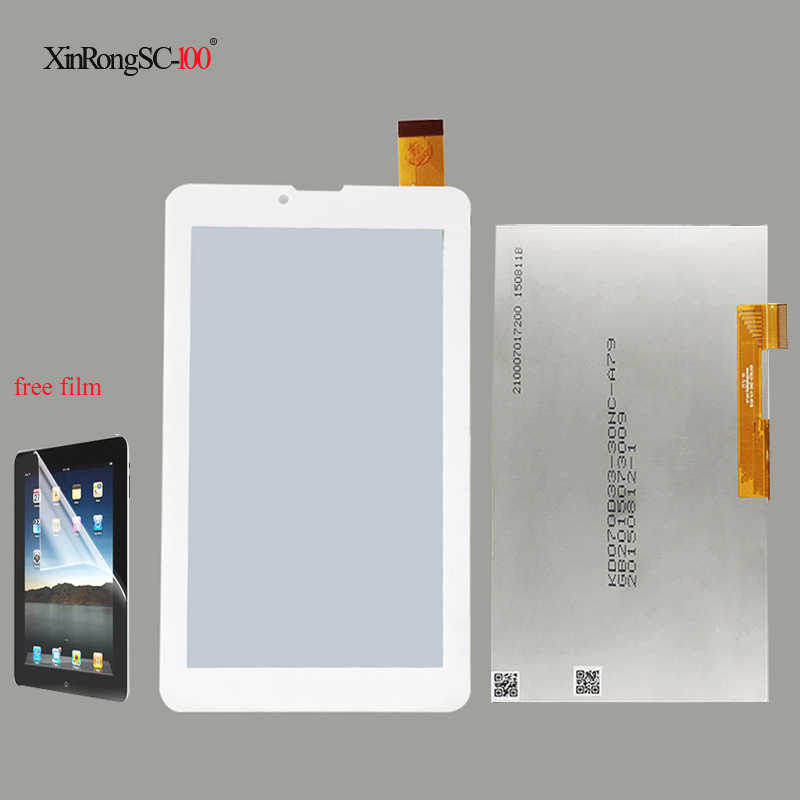 """جديد ل 7 """"INNJOO F5 3G شاشة الكريستال السائل محول رقمي يعمل باللمس الزجاج قطعة بديلة لمستشعر شحن مجاني"""