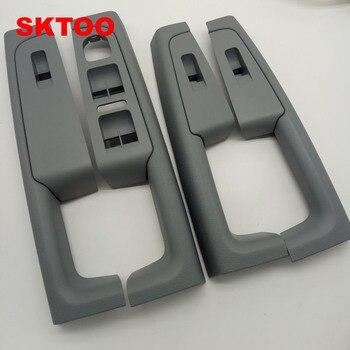 SKTOO (Gray)For Skoda Superb Inner door handle door armrest, switch box inside the door of the glove package
