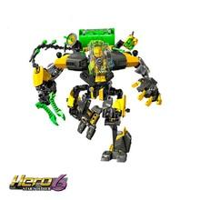 Decool 6.0 Hero Factory Star Soldier Action Figure EVO XL Machine Building Block Bricks 8star Toys for Children