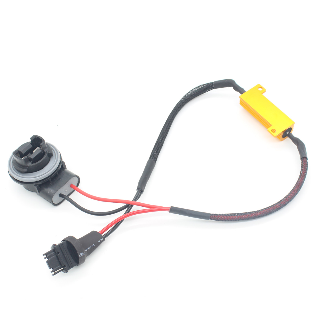Car 3156 T25 Canbus Error Free LED Decoder Resistors Car LED Bulbs Warning Error Cancel Turn Signal For European Load Resistor ijdm amber yellow error free bau15s 7507 py21w 1156py xbd led bulbs for front turn signal lights bau15s led 12v