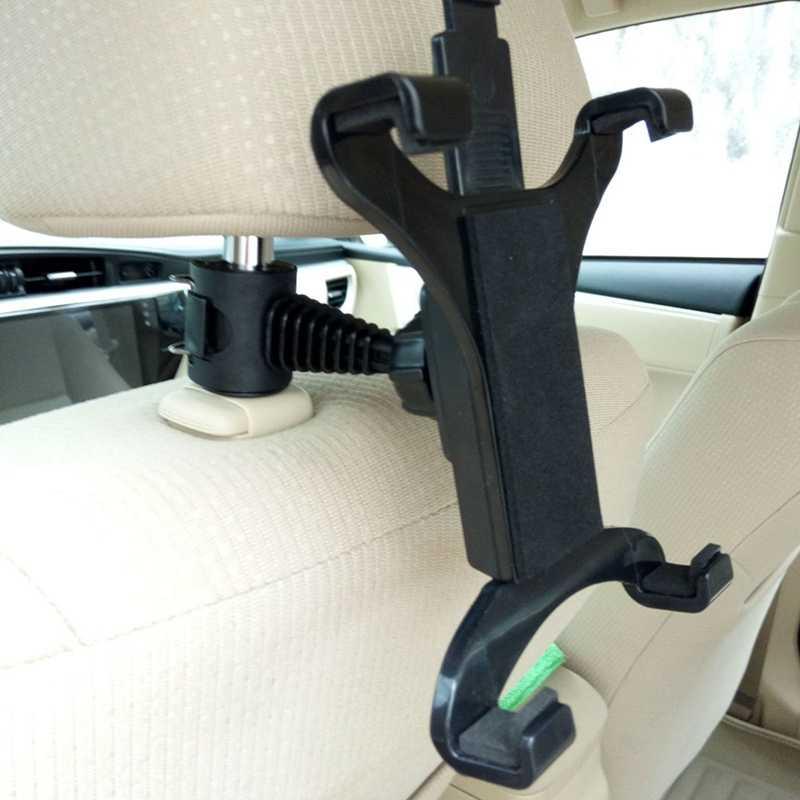 プレミアム車のバックシートヘッドレストマウントホルダー 7-10 インチタブレット用スタンド/IPAD 用の GPS ドロップ船