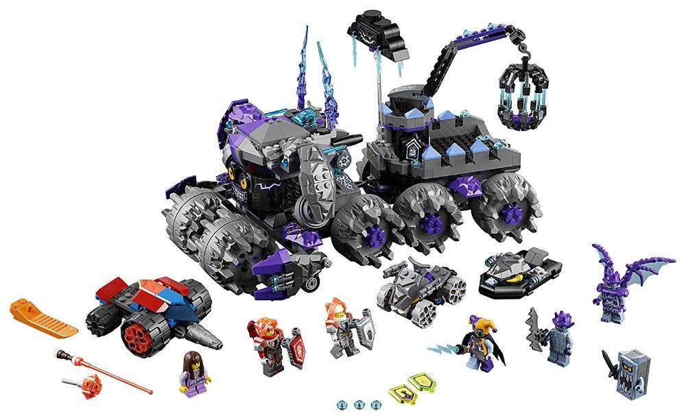 BELA Nexo Knights Jestro's Headquarter Building Blocks Kits Model Kids Toys For Children Compatible Legoe Nexus