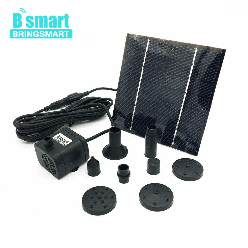 GüNstiger Verkauf Bringsmart Sr-180-1.4w Mini Wasser Pumpe 7 V Dc Bürstenlosen Tauch Solar Panel Pumpe 200l/h 80 Cm Micro Brunnen Landschaft Pumpe Heimwerker