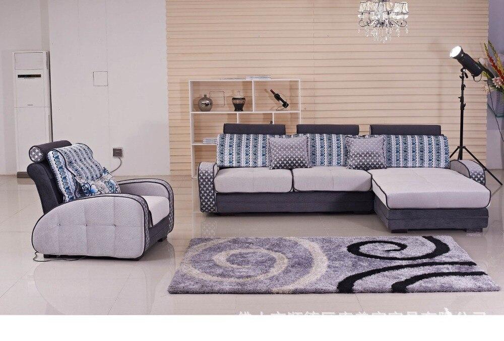 Factory Direct Customized Minimalist Modern Modular Living Room Furniture  Desks Contrast Color Fabric Sofa 1025 # In Living Room Sofas From Furniture  On ... Part 36