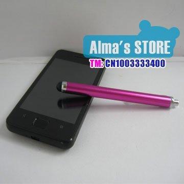 Free shipping high sensitive stylus pen  sensitive Pen  touch pen for Apple iphone 4/4S,iPhone5,