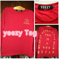 2017 I feel Like Pablo T shirt Men Yeezy Clothes The Life Of Pablo Kanye West Season 3 Hip hop Yeezy Yeezys size M-2XL T-shirt