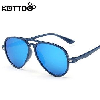 KOTTDO Retro Kids Baby Sunglasses Big Fr...