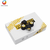 HKCYSEA V11B Tire Pressure Alarm Monitor System Bluetooth TPMS Tester 4 pcs External Sensors for Most Cars Support Android IOS