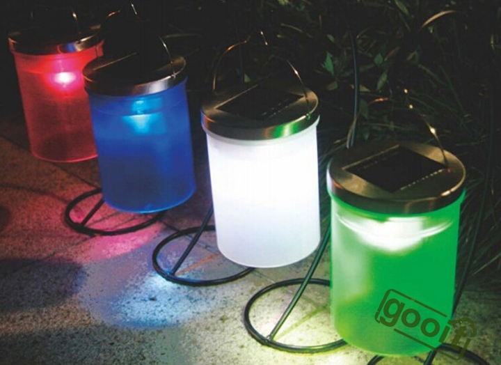 Solar Power Hanging Cylinder Lanterns LED Landscape Path Yard Garden Outdoor  Patio Holidays Light Lamp Path Waterproof Lights In Solar Lamps From Lights  ...