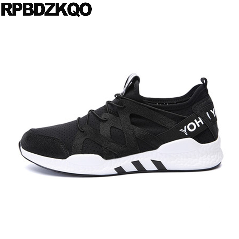 Breathable Sneakers Walking Lace Up Comfort Casual Flats Hot Sale Trainers Black Summer Mesh Shoes Men Spring Autumn Stylish men 2017 spring summer fashion shoes lace up low breathable male flats casual shoes students loafers white khaki shoe hot sale