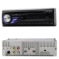 Single DIN Car Stereo CD DVD Player In Dash With FM Receiver Detachable Front Panel LCD