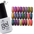Saviland 1Pcs Cat Eyes Chameleon Uv Gel Nail Polish Professional Color Change Esmaltes Gel Varnishes Magnetic Lacquer