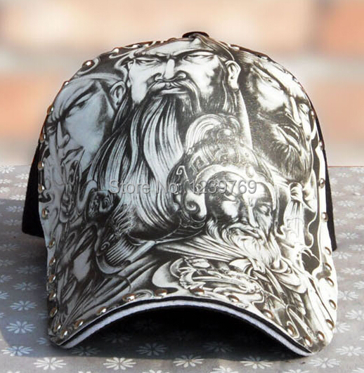 snapback Baseball cap five tigers will sketch illustration new Liu nail cap  fashion illustrator original personality 39c8e6306243