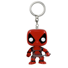 Deadpool Marvel Figure Keychain Toys Gifts Avengers Infinity War Endgame Toy
