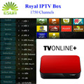 Caja del IPTV árabe AVOV Europa IPTV IPTV TVonline Real con 1730 + iptv canales livetv envío sueño eternamente xxx s * x p * rn canales