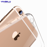 Case For iPhone 8 Protect Camera Phone Cases For iPhone 7 6 TPU Case Transparent Back Cover For Apple iPhone 7 6s 8 Plus Cover