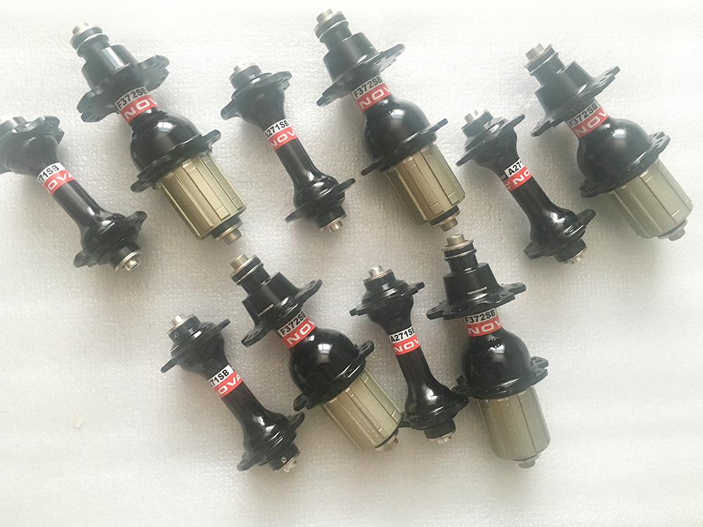 5 Pair Novatec A271SB F372SB road hub front 20 holes and rear 24 holes 384g for shima. or CP Speed  With Skewers billet rear hub carriers for losi 5ive t