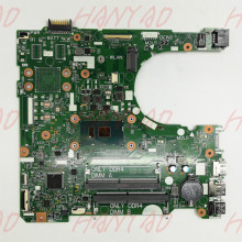 CN-0DKK57 0DKK57 DKK57 FOR DELL 3568 Laptop motherboard With SR2ZU i5 CPU DDR4 15341-1 91N85 MainBoard 100% Tested laptop motherboard mainboard for dell d531 0kx345 kx345 for amd cpu with integrated graphics card 100% tested fully