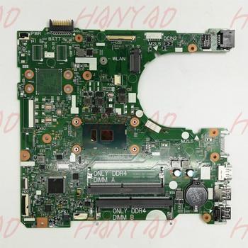 CN-0DKK57 0DKK57 DKK57 FOR DELL 3568 Laptop motherboard With SR2ZU i5 CPU DDR4 15341-1 91N85 MainBoard 100% Tested cn 03j7xx caz60 la e671p i7 8650 cpu mainboard for dell xps 13 9370 laptop motherboard 100