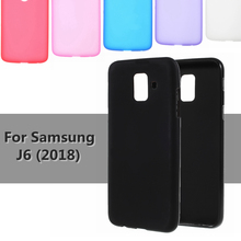 Gel Case For Samsung J6 2018 Matte Double-sided Frosted Soft TPU Cases for Samsung Galaxy J 6 Cover Smartphone J6 Celular Coque
