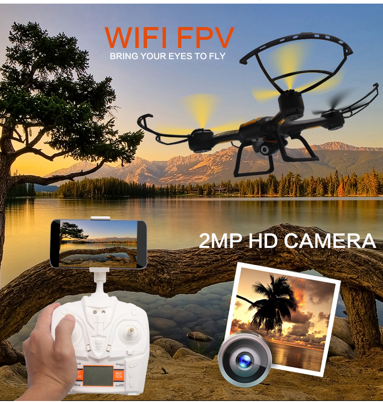 Newest RC Quadcopter TK107W RC WIFI FPV RC drone Helicopter 6 Axis Gyro 2.4G 4.5CH with HD Camera and 4GB SD card VS U842 U919A newest apple shape foldable wifi fpv rc drone rc130 2 4g apple quadcopter with 6axis gryo with 720p wifi hd camera rc drones