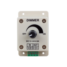 PWM Dimming Controller for LED Lights,Ribbon, Strip,12 - 24 Volt(12V - 24V)8 Amp(China)