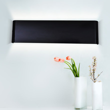 Modern 24cm-111cm Long Aluminum LED Wall Lamps for livingroom bathroom as Decoration Sconce Light 90-260V lamparas de pared