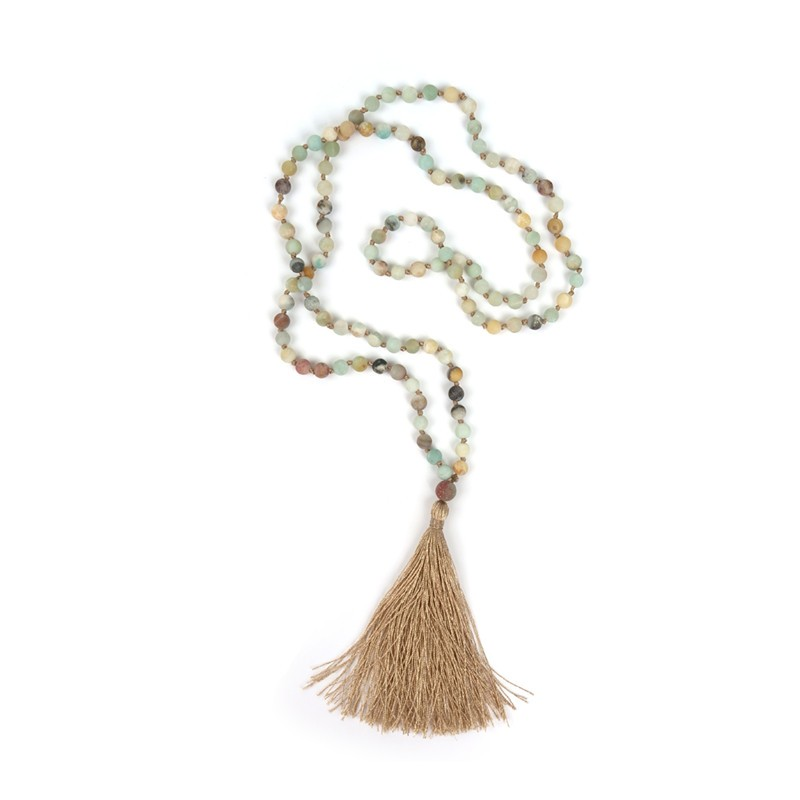 Shinus Mala Beads Necklaces Woms