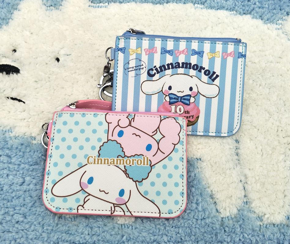 Luggage & Bags Coin Purses & Holders Ivyye 1pcs Mickey Stitch Anime Plush Card Holder Pu Cartoon Credit Id Bags Zipper Coin Bus Card Wallet Kid Girls Gifts New