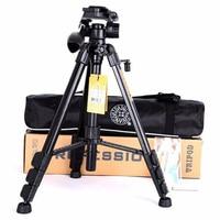 Foleto Tripods Q111 q 111 Professional camera tripod Portable travel 3KG bear tripod stand light weight for DSLR camera video