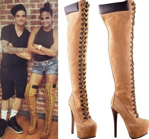 Sexy Winter Boots Designer Women Thigh High Boots New 2013