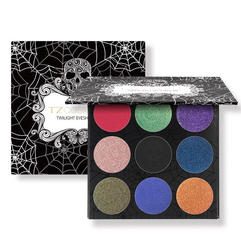 Eyeshadow Palette Matte Diamond Glitter Eye Shadow Skull Palette Blush Makeup Set for Beauty Makeup Pallet Cosmetics Sombras