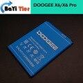 Doogee x6 batería 100% nuevo de alta calidad 3000 mah batería de respaldo para doogee x6 pro smartphone + en stock