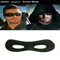 TV Series Green Arrow Season 4 Oliver Queen Mask Cosplay Mens Eye Patch for Party Halloween Free Shipping