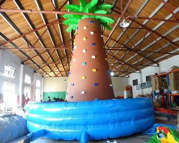 Trwała duża nadmuchiwane ściany wspinaczkowe sprzęt do wspinaczki w cenie fabrycznej tanie i dobre opinie XZ-CW-015 Dziecko Durable large inflatable climbing walls climbing equipment at factory 0 5mmPVC 110-220v Large Outdoor Inflatable Recreation