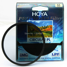 Buy online 55mm Hoya PRO1 Digital CPL Polarizing Filter Camera Lens Filtre As Kenko B+W Andoer