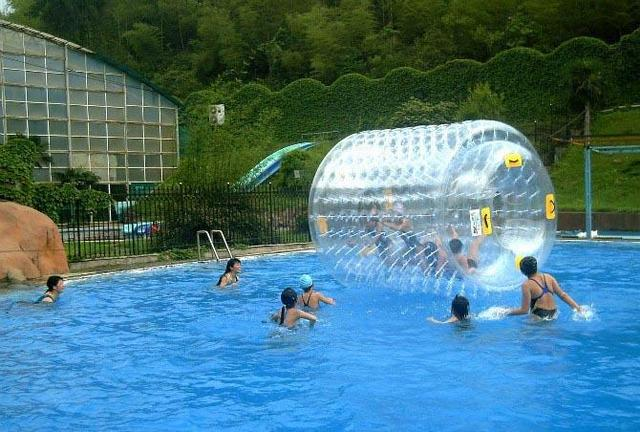 water roller ball 2.4*2.2*1.7 M size water toy park, lake,rviver, water roller
