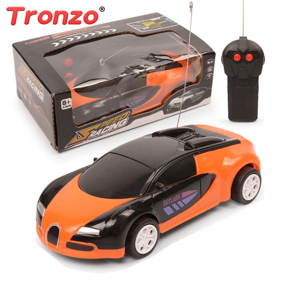 Tronzo RC Toys Plastic Children RC Car Off Road Rockstar Radio Remote Control Vehicle Electronic Hobby Toy Birthday Gift For Kid radio-controlled car