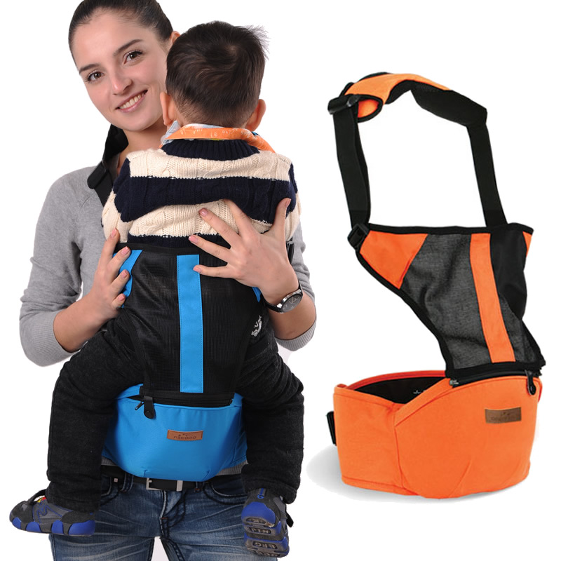 4 Positions Breathable Baby Carrier Ergonomic Baby Carrier Sling Baby Hipseat Carrier Baby Wrap Carrier Kids Waist Stool BD20 free shipping 4 in 1 soft structured baby carrier 15 colors baby carrier 15 kinds baby sling baby pouch