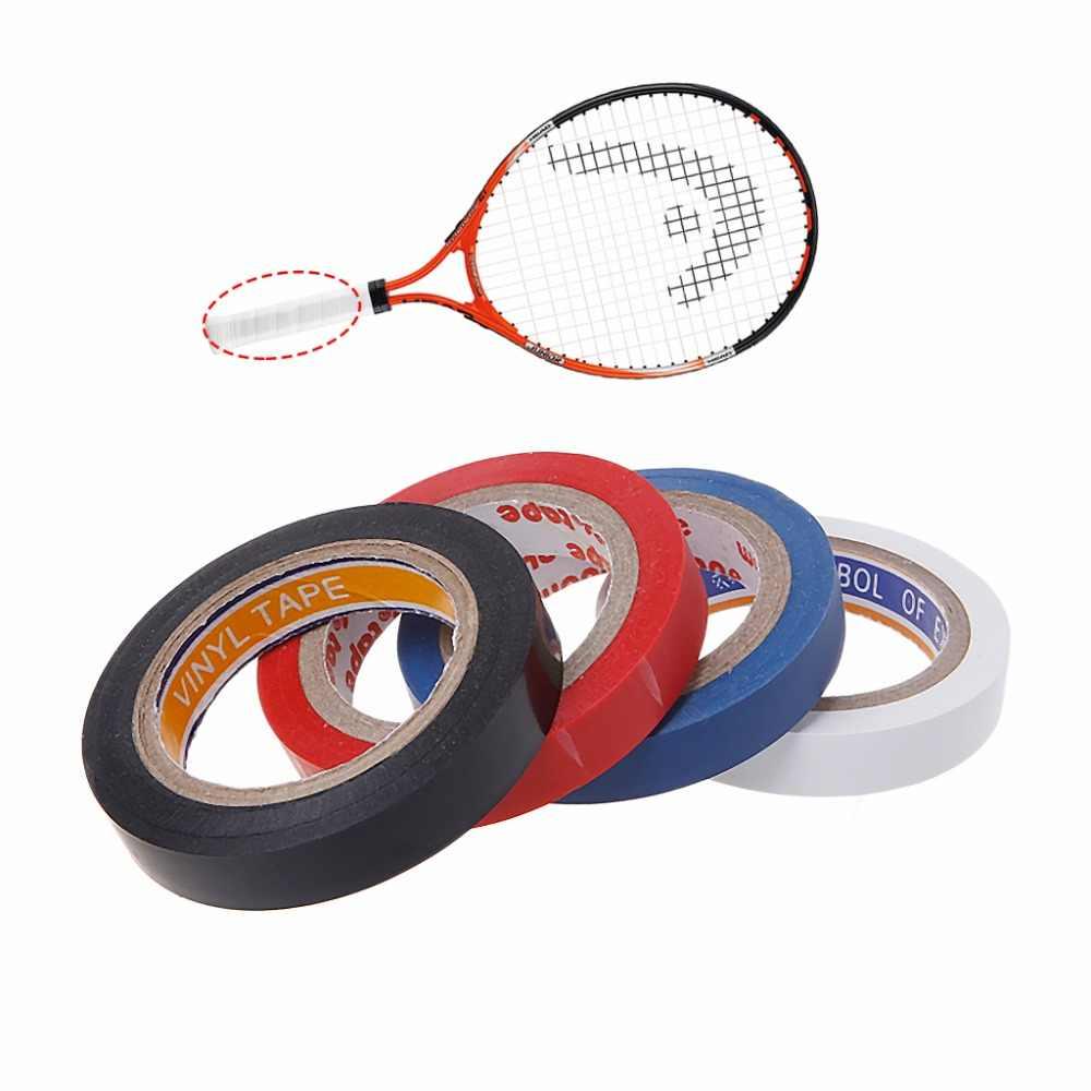 8 m Squash Badminton rakieta do tenisa ochrona głowy naklejki uzwojenia uchwyt taśmy