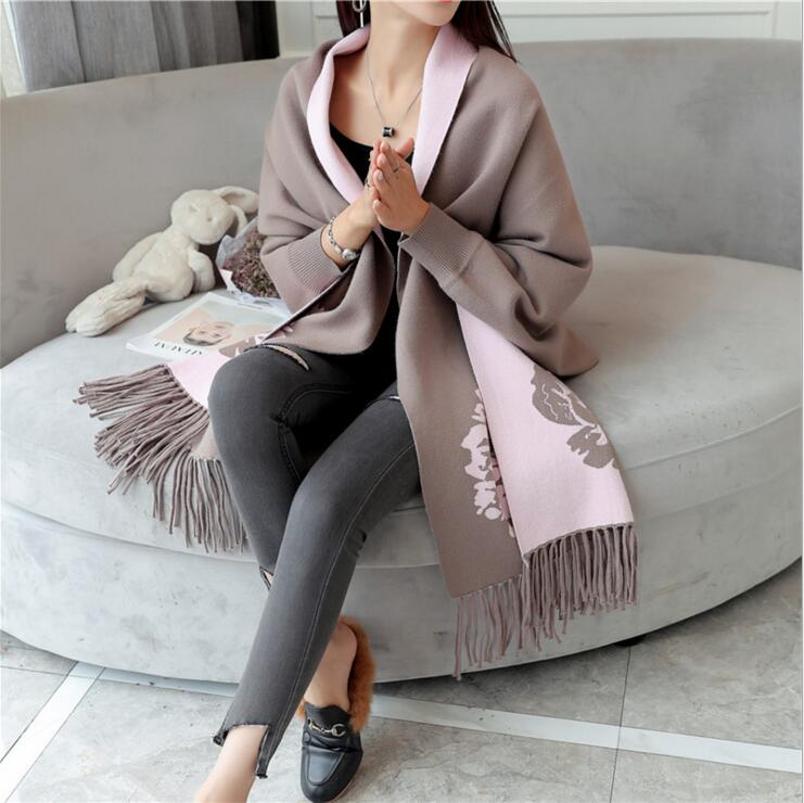 Female Cardigan Women's Sweaters For Winter 2019 Lady's Sweater Woman's Cardigan Feminino Women Cardigans Autumn Long Sleeve