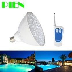 Par56 RGB LED Luz de piscina bombilla E27 12V 12V 120V 220V para Pentair Ltd Hayward lámpara 18W 24W 35W 40W acuario IP68 envío gratuito