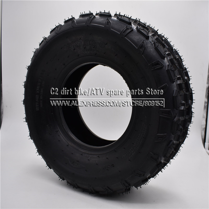 Atv,rv,boat & Other Vehicle 8 Inch Atv Tire 19x7.00-8 Four Wheel Vehcile Motorcycle Fit For 50cc 70cc 110cc 125cc Small Atv Front Or Rear Wheels