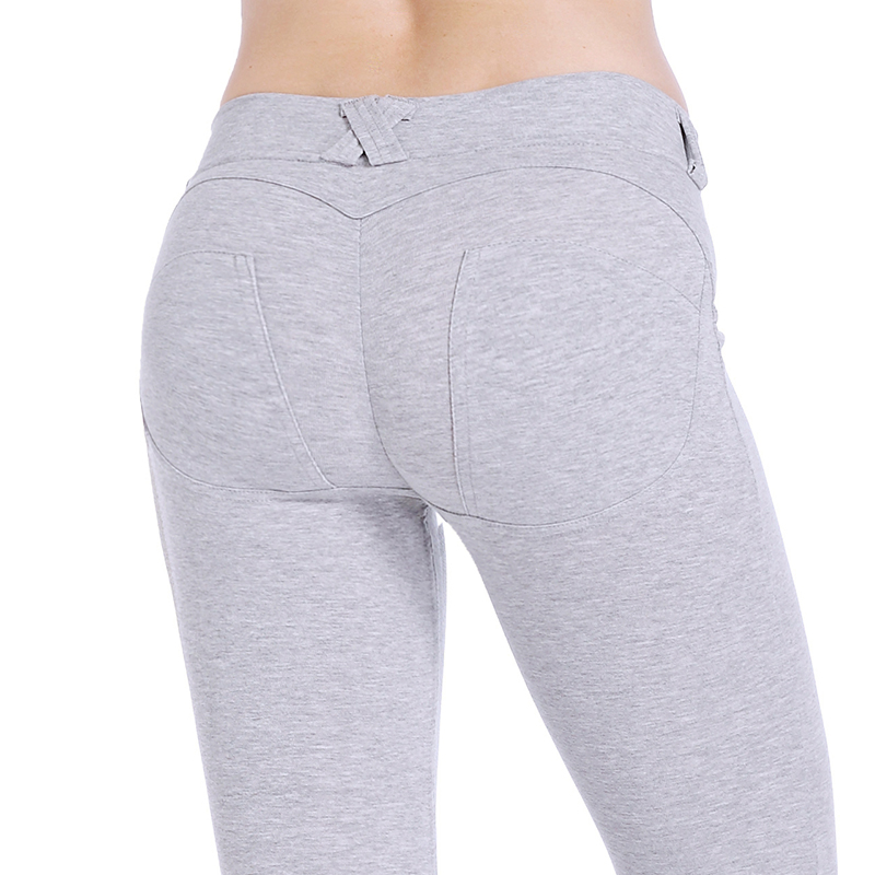 2018 Low Waist Pants Women Sexy Hip Push Up Pants Legging Jegging Gothic Leggins Jeggings Legins Comfortable Women Leggings