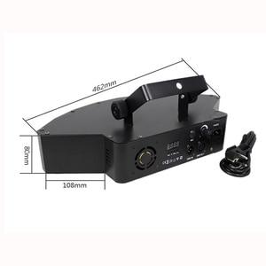 Image 3 - Disco podium lichtbundel 8*10 W LED RGBW DMX 512 party lights club sound light professionele dj apparatuur scanner bar lichten