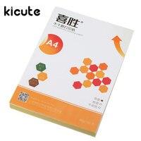KiWarm 100 Sheet A4 Self Adhesive Printing Paper Glossy Matte Label With Adhesive Inkjet Printing Sticker