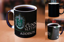 customized name Slytherin Gryffindor hufflepuff Ravenclaw marauder's map mug cup heat changing color magic mug tea cups
