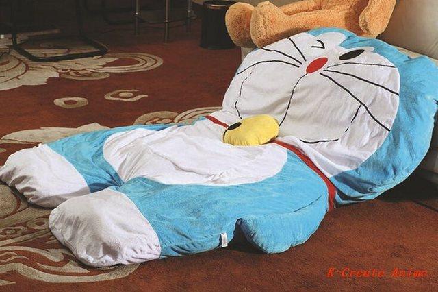 1 шт. Аниме Doraemon стиль гигантский диван-кровать татами игрушки через EMS.