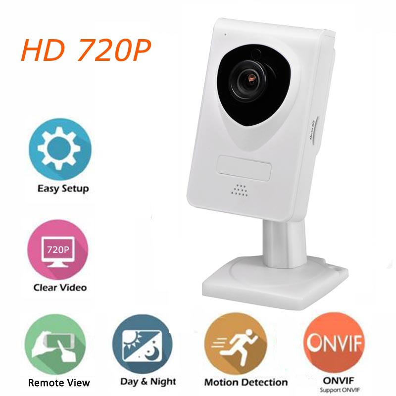 WiFi IP Camera 720P Home Security with Two-Way Audio Night Vision Motion Detection Network Surveillance Camera Baby Mointor
